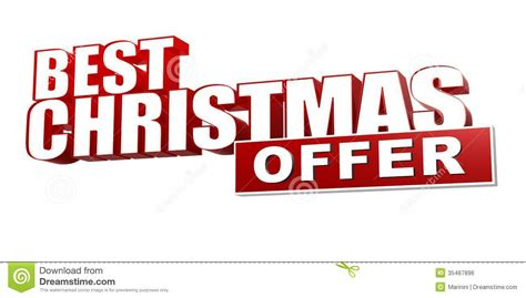 Offer Letter Holidays Best Offer In 3d Letters And Block Royalty Free Stock Image Image 35487896