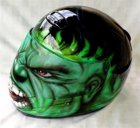 airbrushed motocross helmets hulk helmet custom airbrushed motorcycle helmet hulk