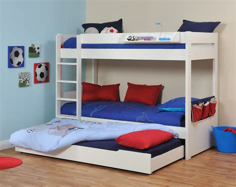 One Bed Bunk Bed Space Saving Stylish Bunk Beds For Your Home