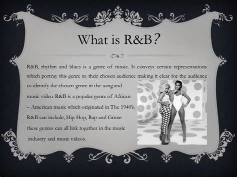 song r b r b representation within a