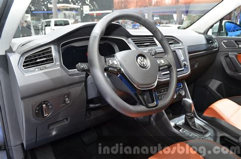 volkswagen tiguan 2015 interior 2016 volkswagen tiguan interior at iaa 2015 indian autos