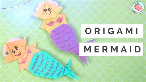 Origami Mermaid - origami mermaid tutorial 187 origamitree