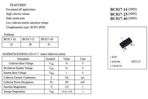 datasheet transistor c9012 datasheet untuk transistor 28 images pcb 2sk790 179731 pdf datasheet ic on line datasheet