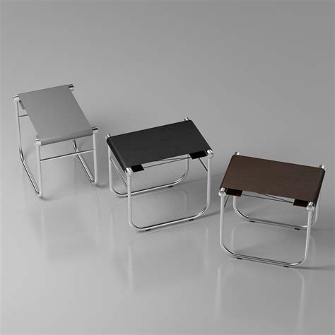 Le Corbusier Stool by 3d Le Corbusier Lc9 Bathroom Stool High Quality 3d Models