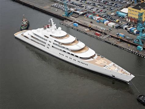 biggest charter boat in the world m y azzam 180m super yacht by l 252 rssen yachts the largest
