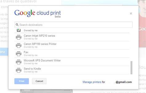 cloud print android c 243 mo imprimir desde un tel 233 fono android compucodigo