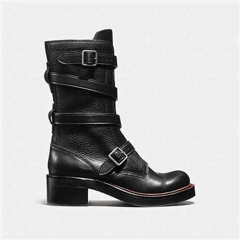 boots moto coach designer boots moto boot