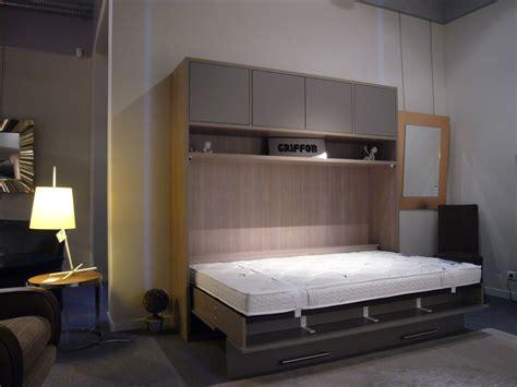 lit relevable 2 personnes