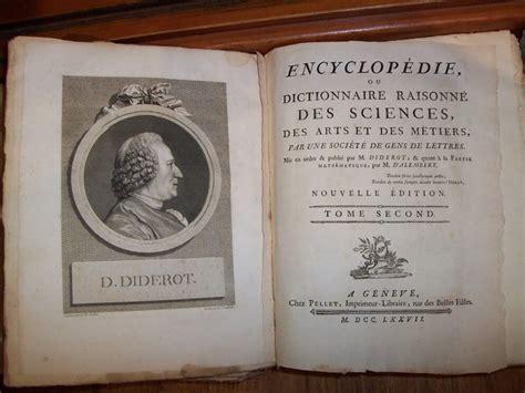 l enciclopedia illuminismo enciclopedia di diderot genesi e importanza storica