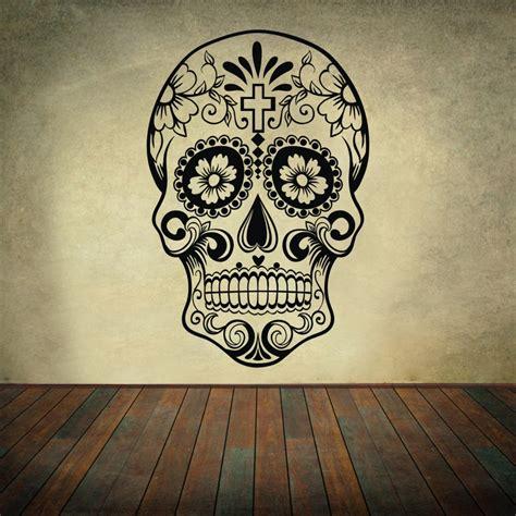 dia de los muertos home decor aliexpress com buy awoomexican sugar skull office