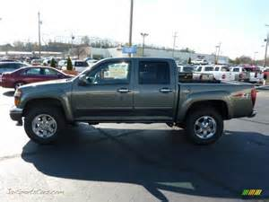 Chevrolet Colorado 4x4 Crew Cab 2011 Chevrolet Colorado Lt Crew Cab 4x4 In Steel Green