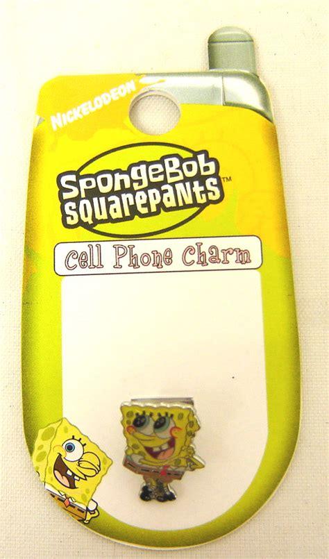 spongebob cell phone antenna charm