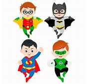 Stickers Pour Enfants Kit Superheroes Volants