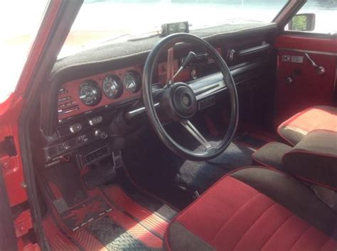 jeep cherokee chief interior 1980 jeep cherokee chief widetrack s red exterior w red