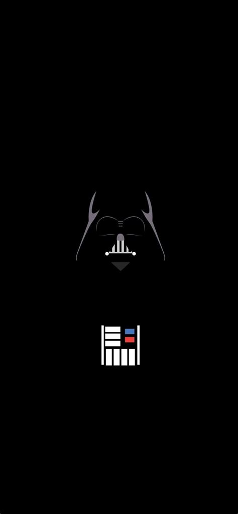 vader minimalist iphone  wallpapers