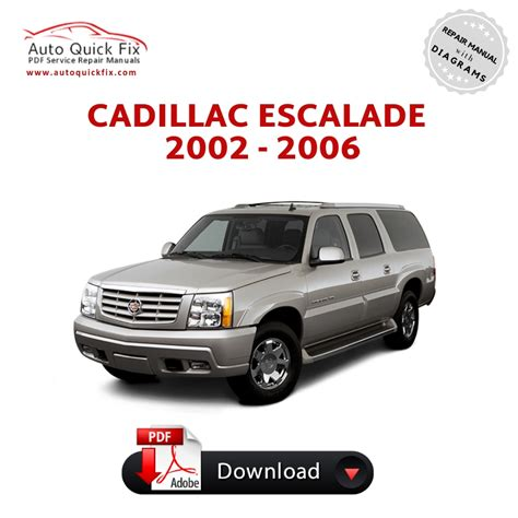 free download parts manuals 2006 cadillac escalade navigation system cadillac escalade pdf service repair manual 2002 2003 2004 2005 2006 pdf factory repair manuals