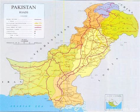 road map from usa to pakistan pakistan detailed road map ask travel gurus pakwheels