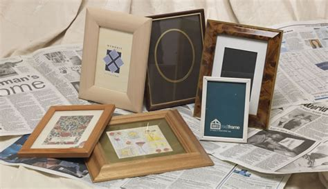 spray painting frames how to spray paint picture frames 187 rustoleum spray paint