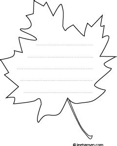 printable leaves with lines best photos of leaf shaped writing template leaf writing