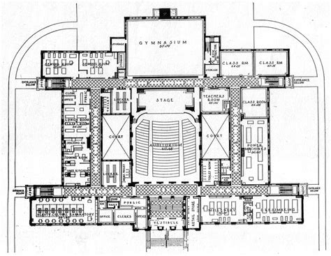 school building floor plan the trend in school building design 187 james betelle