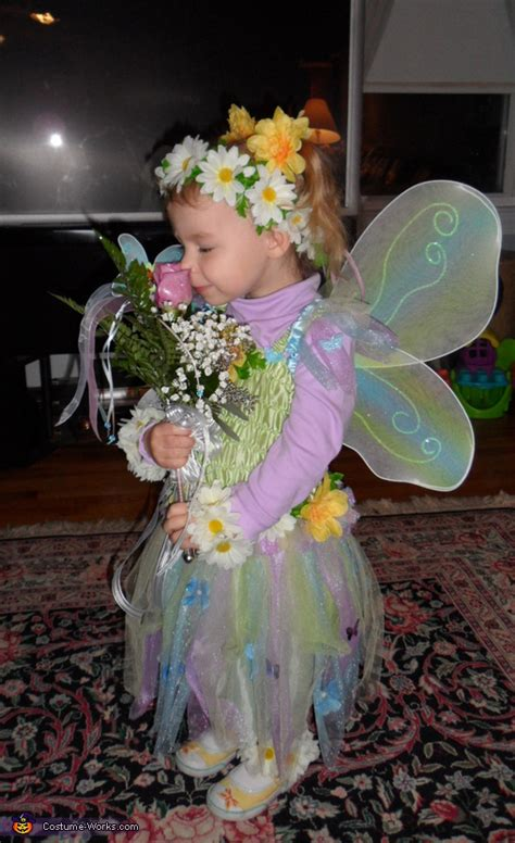 flower fairy costume  girls