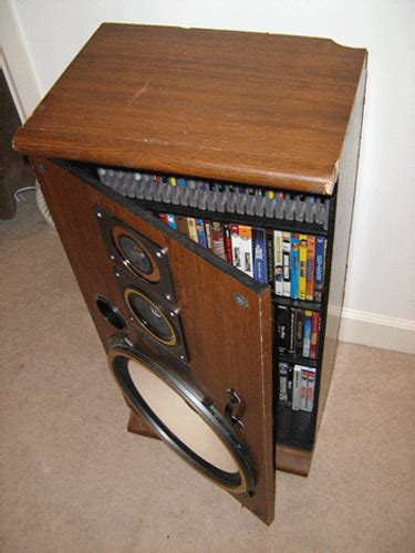 diy media cabinet turn broken speakers into a snappy media cabinet curbly