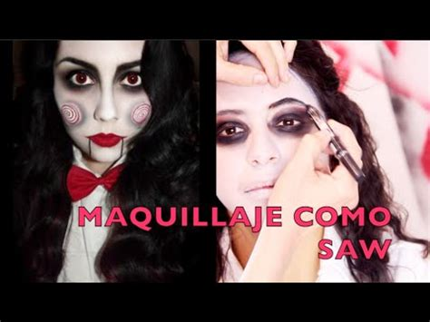jigsaw film cda tutorial de maquillaje para halloween saw anastassia