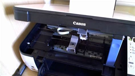 Canon Mp270 Printer Cartridge Change Youtube
