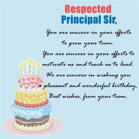 Happy Birthday Wishes Respected Sir Best Wallpaper Happy Birthday Wishes To Principal