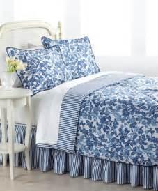 About ralph lauren adeline blue amp white 4p king comforter set