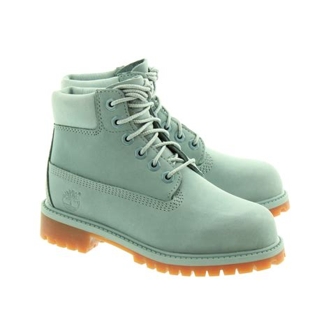 Timberland Blue timberland authentic 6 inch lace boots in blue in blue