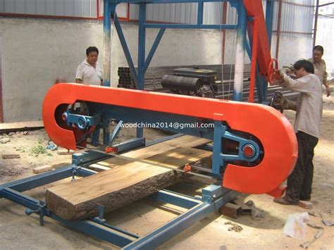 mini wood saw timber saw mill mini woodworking horizontal bandsaw