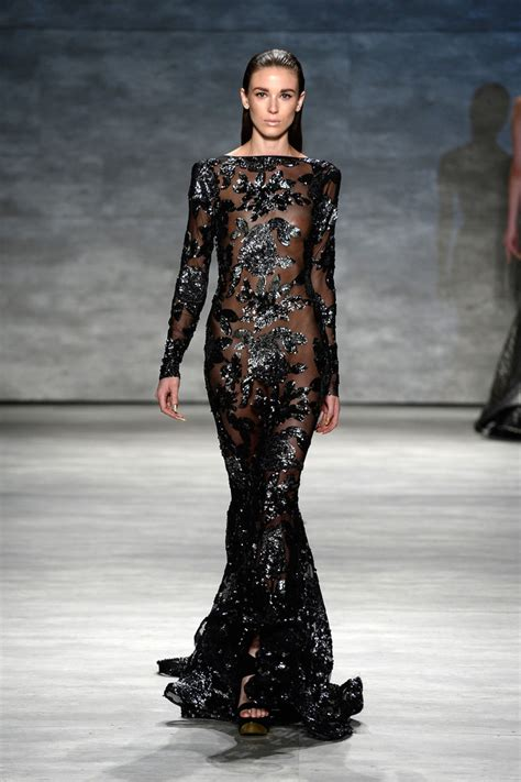 Frock Horror Of The Week Catwalk 11 by Michael Costello Runway Mercedes Fashion Week