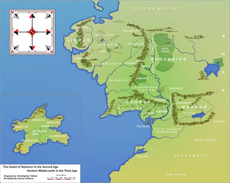Midgard And Middle Earth n 250 menor and western middle earth in the 3rd age the