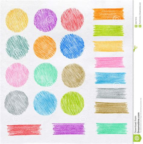 design elements color color pencil design elements royalty free stock photo