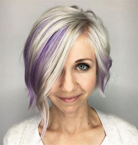 highlight for fine hair 25 best ideas about purple peekaboo hair on pinterest