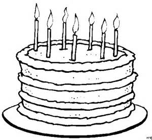 ausmalbild kuchen kuchen mit kerzen ausmalbild malvorlage comics