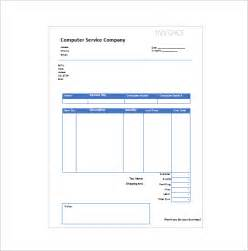 service receipt template 9 free word excel pdf format
