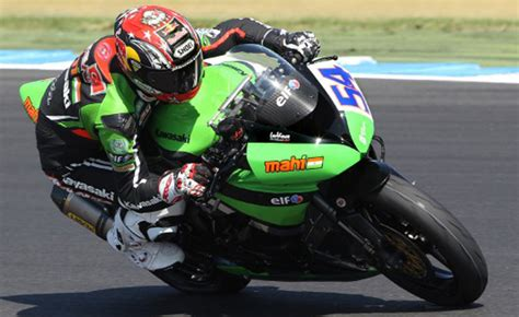Motorcycle Apparel Phillip Island by Results From Day 2 Of World Supersport Testing At Phillip