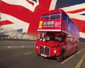 Union Jack Wall Mural london bus rouge poster mural papier peint acheter le