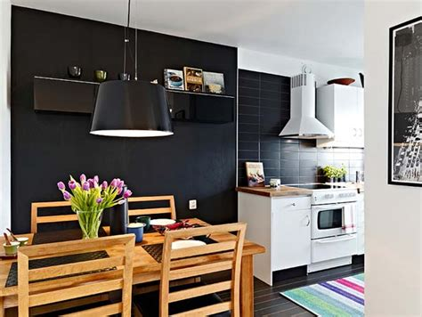 Modern Kitchen For Small Apartment Small Apartment Rustic And Modern Design Kitchen Dc New