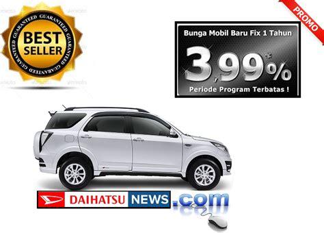 Dealer Mobil Daihatsu Sawah Besar promo daihatsu new terios facelift 2015 paket kredit