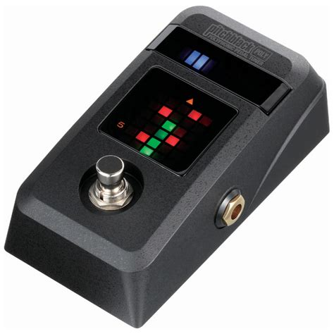 Tuner Gitar 4 korg pitchblack poly polyphonic pedal tuner at gear4music