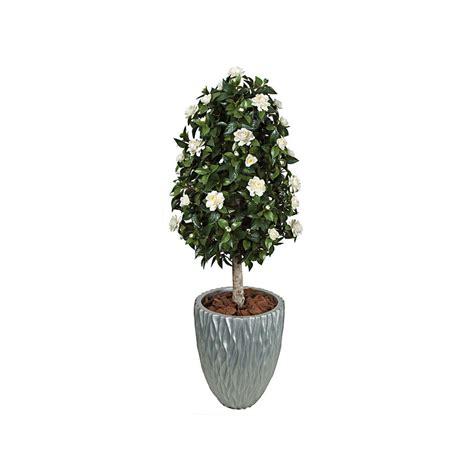 gardenia topiary tree 4 5 outdoor artificial gardenia topiary