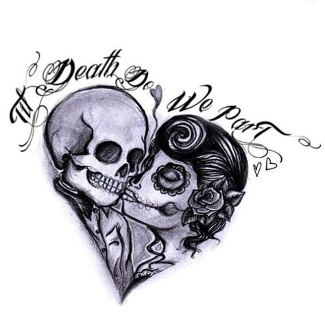 matching couple skull tattoos 107 best images about ideas on