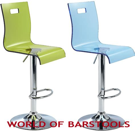 high end rena bar stool in green black blue or ebay