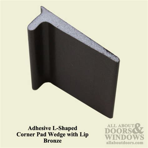 Exterior Door Corner Seal Pads How Do You Fill The Hole At The Bottom Of French Doors