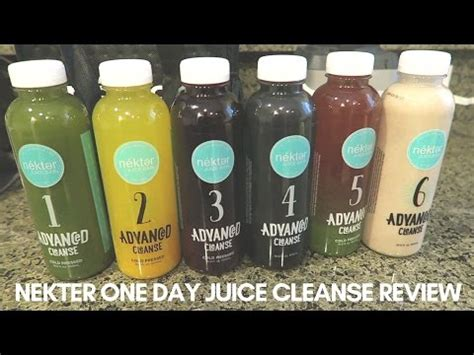 Jersey Juice Detox by Nekter One Day Juice Cleanse Review