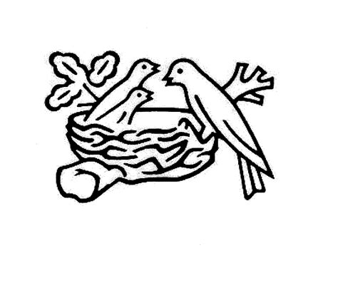birds in nest logo www imgkid com the image kid has it