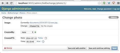 django creating links python how to use django admin interface to show